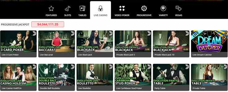 royalvegascasino_live games_blackjack_baccarat
